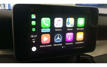 Carplay and Android Auto Mercedes Benz TR3146