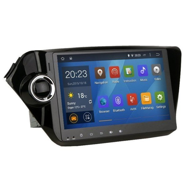 """Radio monitor 10,1"""" GPS HD KIA K2 / RIO PURE ANDROID REF: TR1927"""