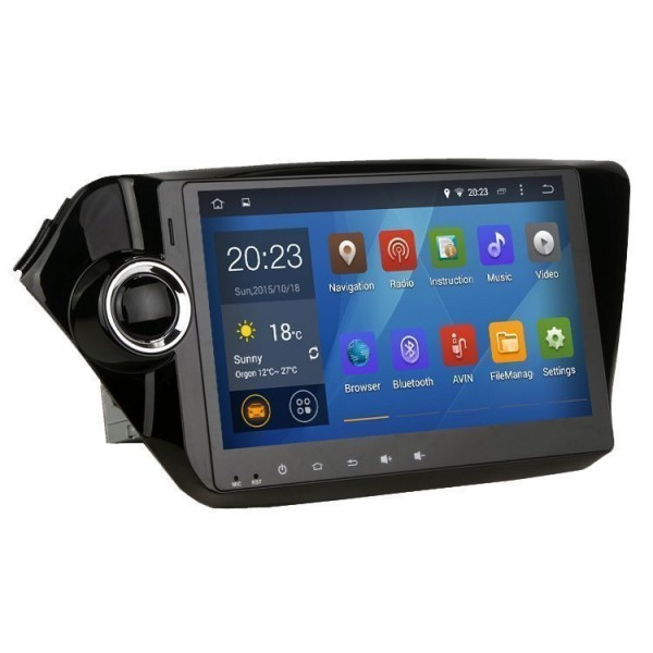 "Radio monitor 10,1"" GPS HD KIA RIO / K2 ANDROID PURO REF: TR1927"