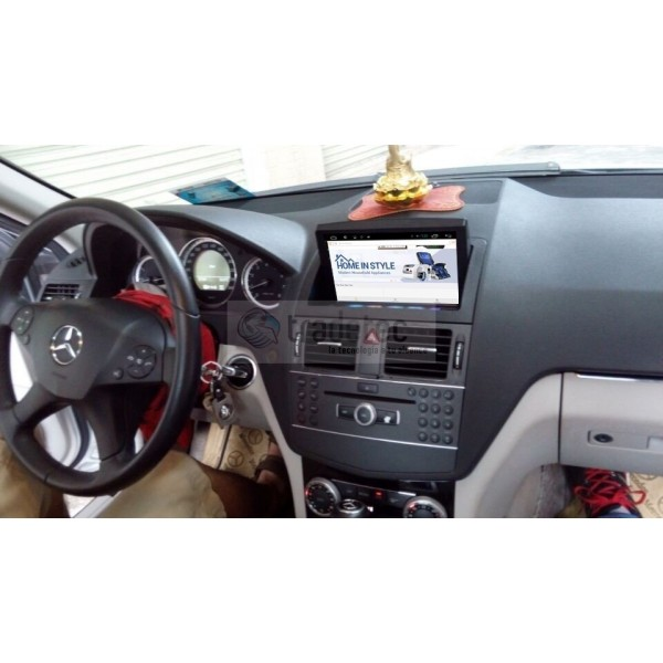 mercedes benz c w204 gps android