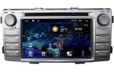 Radio navegador Toyota Hilux 2012 - 2016 GPS Android TR1592