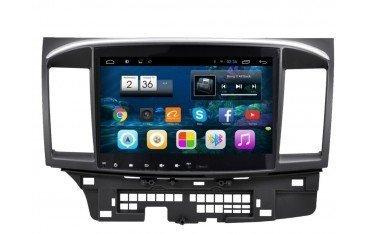 Radio navegador para Mitsubishi Lancer 10,2 pulgadas con GPS ANDROID TR1934