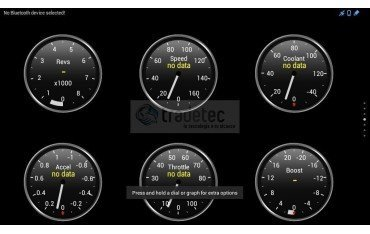 """Monitor 8"""" GPS C40 / S40 / S60 / C30 / C70 / V50 ANDROID TR1937"""