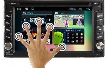 Radio DVD con GPS Android específico Nissan REF: TR1599