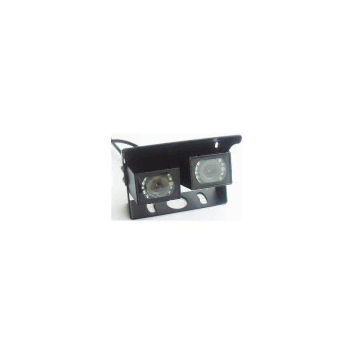 Doble cámara con soporte