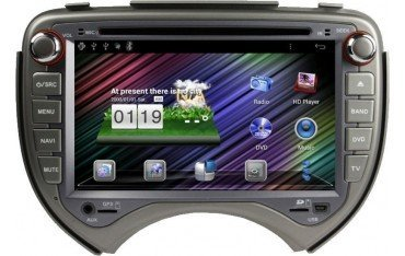 Radio DVD with GPS for Nissan Micra / March ANDROID TR1600
