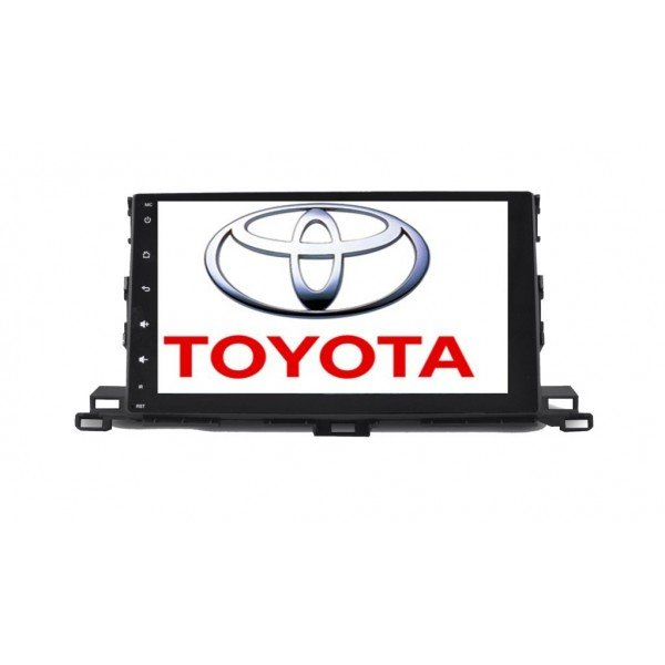 "Radio monitor 10,2"" GPS HD TOYOTA HIGHLANDER PURE ANDROID REF: TR1944"