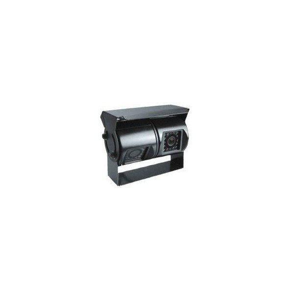 Dual top view parking camera