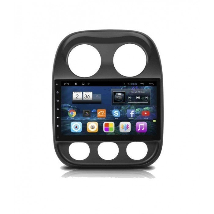 JEEP COMPASS head unit
