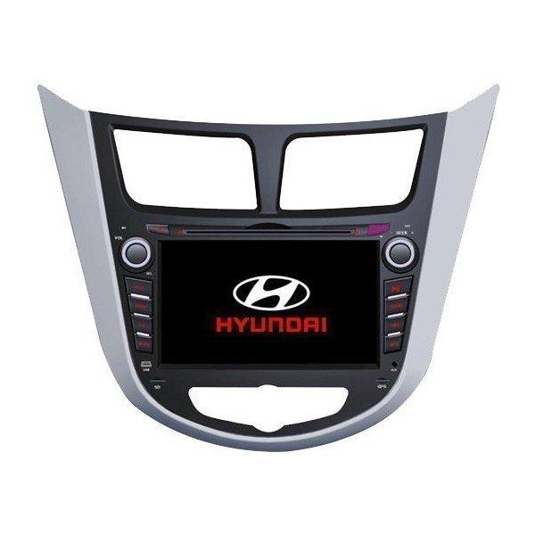 Radio DVD con GPS Android PURO Específico Hyundai Verna / Accent / Solaris (2011-2012) REF: TR1613