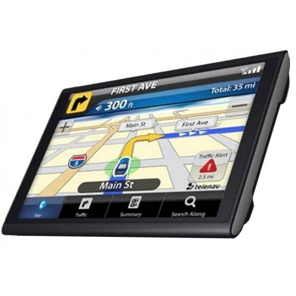 7-inch TOUCH SCREEN GPS DVB-T, bluetooth handsfree with FM broadcast, MP4 / MP5 REF: TR1022