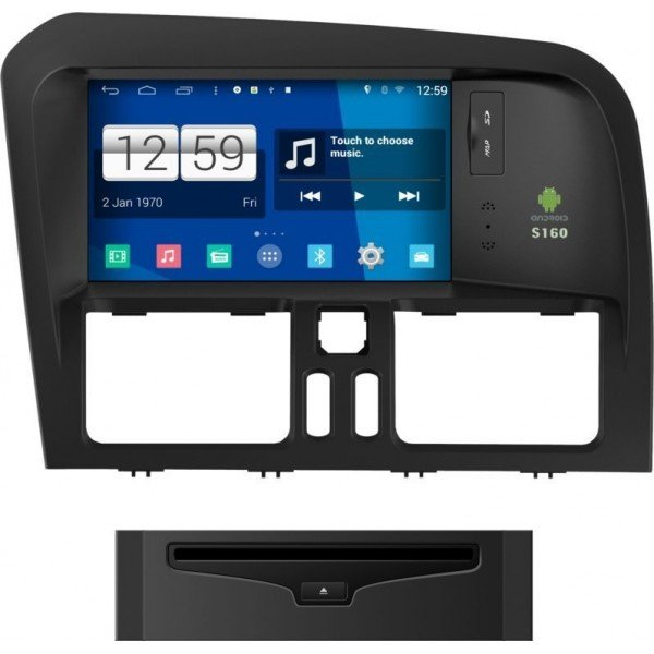 Radio DVD GPS Android HD QUAD CORE S160 Volvo XC60  REF: TR1974