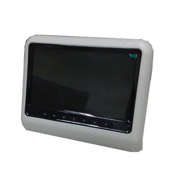 Pantallas para reposacabezas LCD, DVD, USB, SD y juegos. REF: TR2046