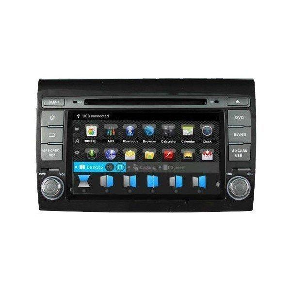 Radio DVD GPS Android PURO Fiat Bravo REF: TR1662