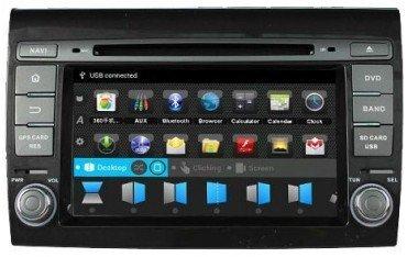 Radio navegador GPS Fiat Bravo Android 10 TR1662