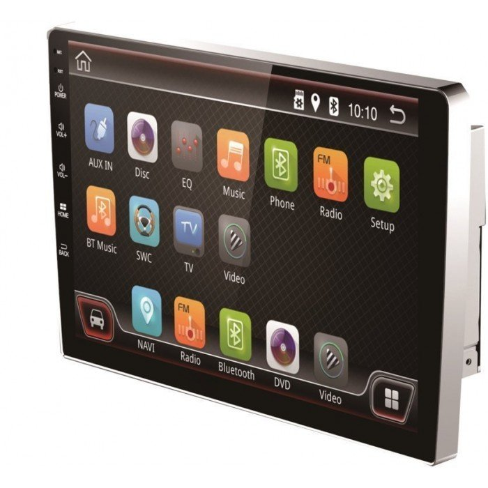 2 DIN Monitor 9 inch Android Radio GPS multi touch screen  REF:TR2135