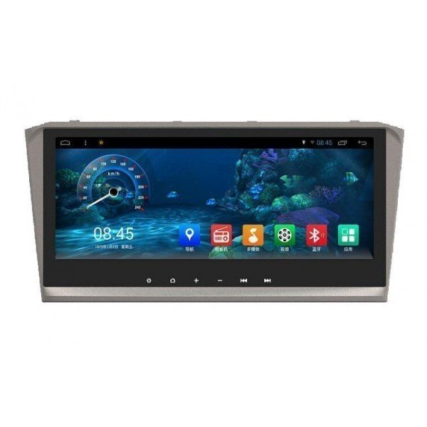 Radio DVD GPS HD QUAD CORE Toyota Avensis T25 PURE ANDROID REF: TR2213