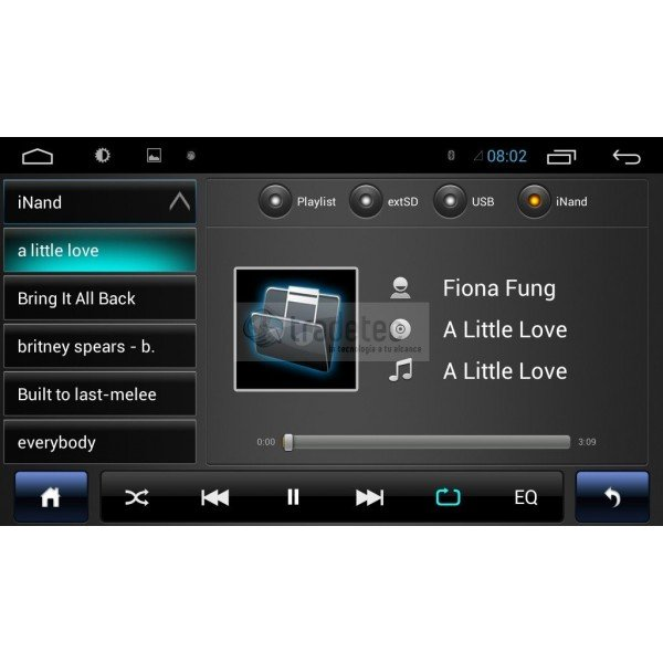 GPS Audi A3 ANDROID 8,8