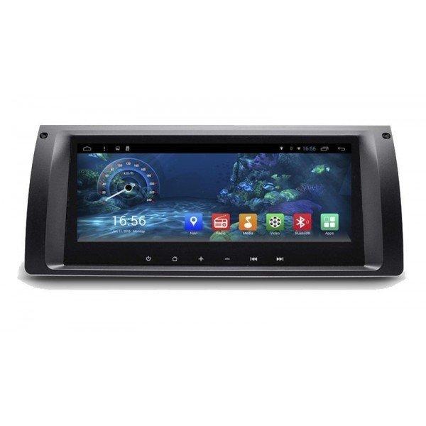 """Radio monitor 8.8"""" GPS HD BMW Serie 5 E39 y X5 E53 PURE ANDROID REF: TR2222"""