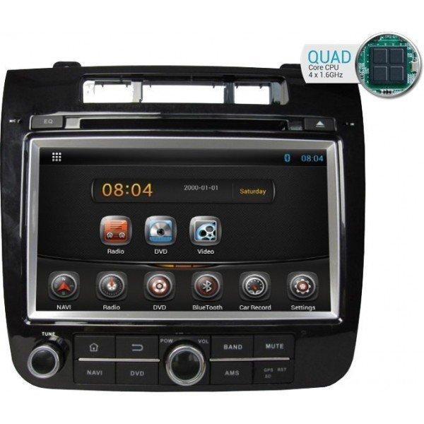 Radio DVD GPS Android HD QUAD CORE Touareg