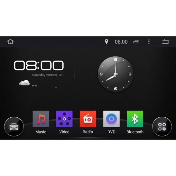 Radio DVD GPS Android HD QUAD CORE Touareg