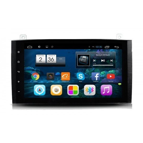 "Radio monitor 9"" GPS HD Mercedes A / B / Sprinter / Vito / Viano / Crafter PURE ANDROID REF: TR2228"