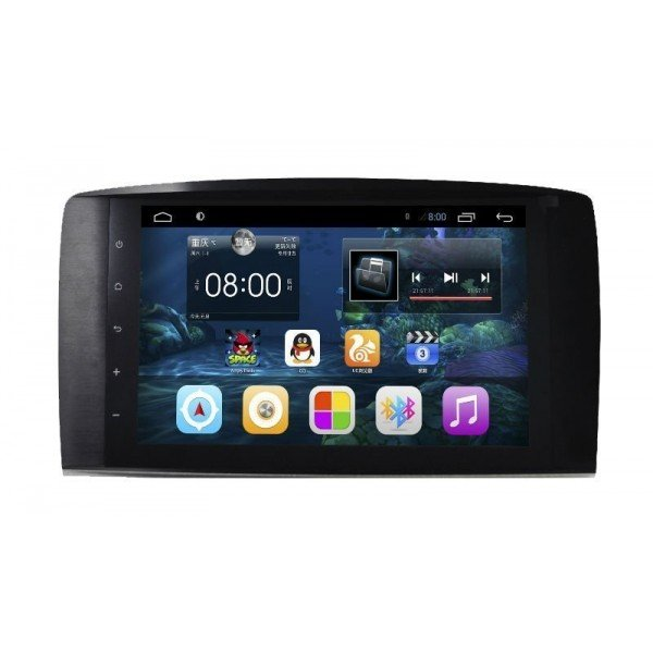 "Radio monitor 9"" GPS HD Mercedes R W251 PURE ANDROID REF: TR2229"