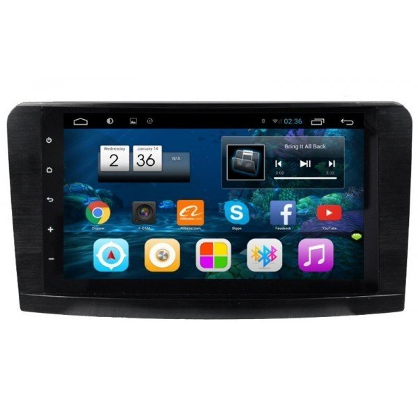 "Radio monitor 9"" GPS HD Mercedes ML W164 / GL X164 PURE ANDROID REF: TR2230"