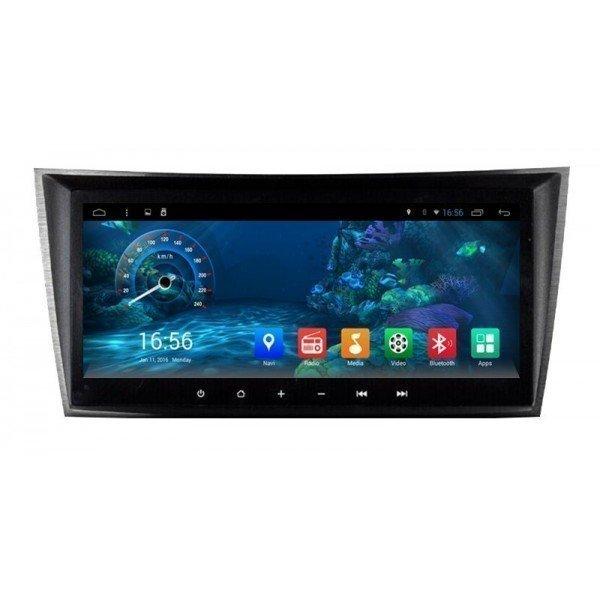 """Radio monitor 8.8"""" GPS HD Mercedes E W211 ANDROID PURO REF: TR2231"""