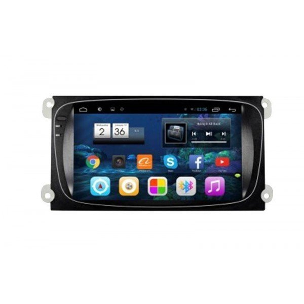 "Radio monitor 8"" GPS HD FORD ANDROID PURO REF: TR2234"