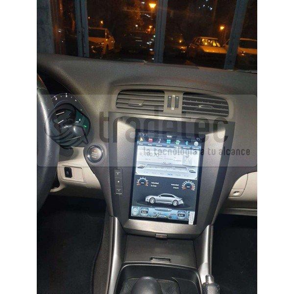 Radio GPS head unit TESLA STYLE Lexus IS