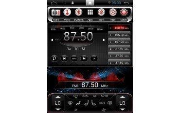 Radio GPS ANDROID TESLA STYLE Nissan juke