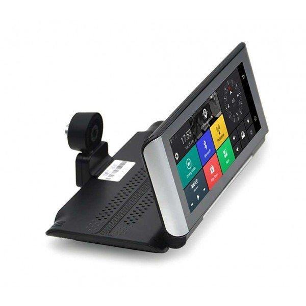 Pantalla salpicadero coche GPS Android grabador