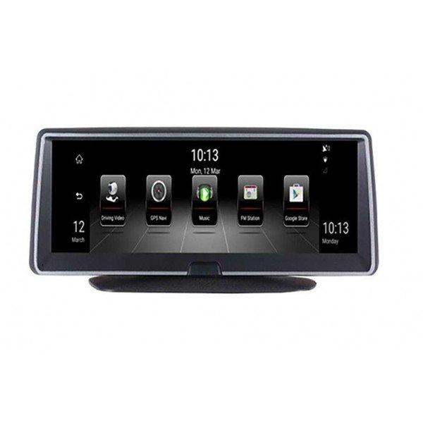Pantalla coche GPS Android grabador conducción