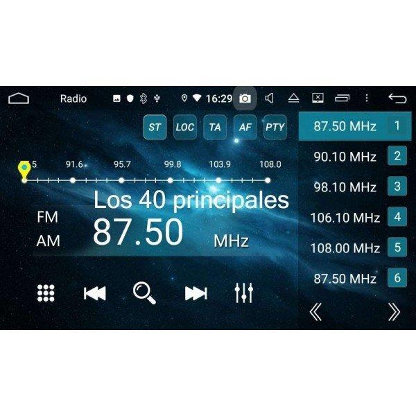 GPS Audi TT screen 8
