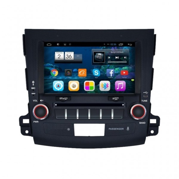 "Radio monitor 8"" GPS HD OUTLANDER / Citroen C Crosser PURE ANDROID REF: TR2242"