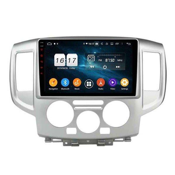 GPS Nissan NV200 pantalla 9