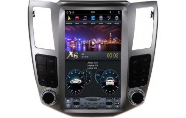 Radio navegador GPS tipo TESLA Lexus RX ANDROID TR3500