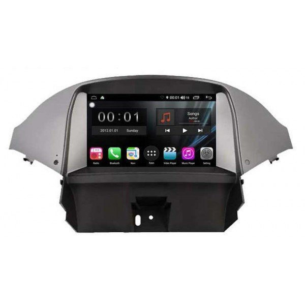 GPS Chevrolet Orlando screen 7 android
