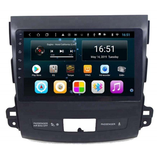 gps Citroen C Crosser head unit