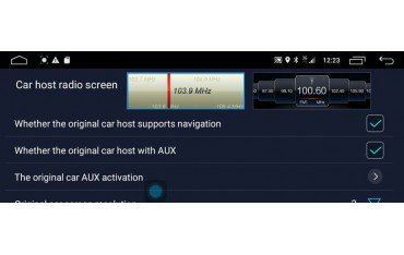 mercedes benz W204 android 12.3  4g