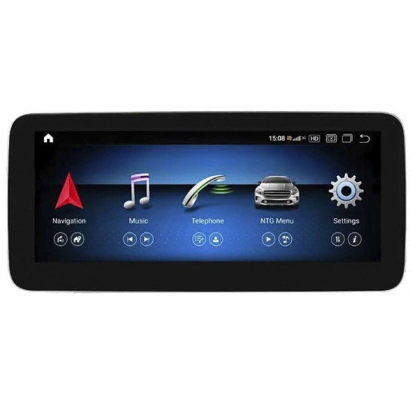mercedes benz Clase C W204 android 12.3  4g