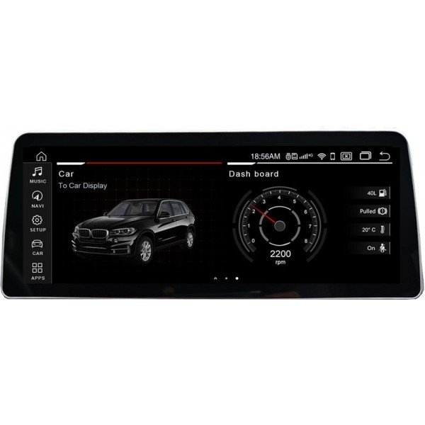 Navegador 12,35 pulgadas GPS BMW X5 E70 y X6 E71