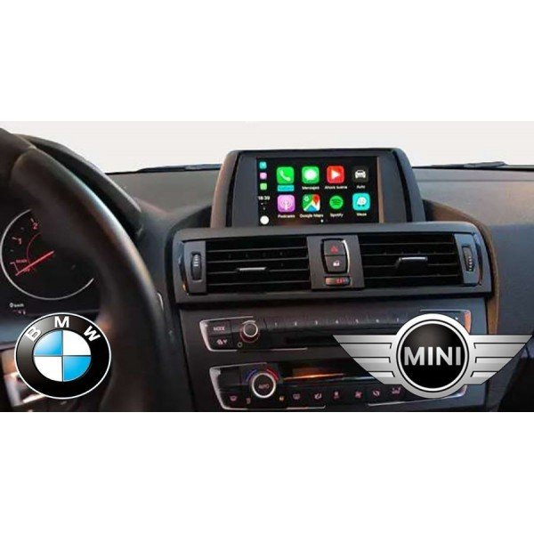 Carplay Wireless BMW Mini Android  Auto EVO CIC NBT ID5 ID6