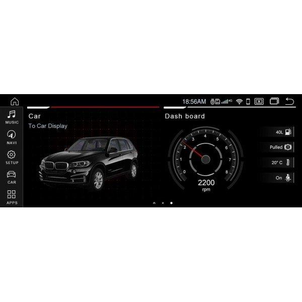 12,5 12,3 12,35 inch GPS BMW X5 F15 X6 F16 ANDROID 12.3 12.35 12.5 head unit series