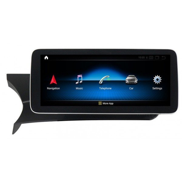 Monitor 10,25 GPS 4G Mercedes C class W204 ANDROID AUTO wireless CARPLAY head unit