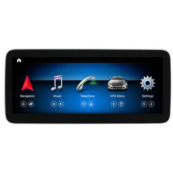 Monitor 10,25 GPS 4G MERCEDES CLASE C W205 GLC ANDROID Carplay androidauto android auto TR2928