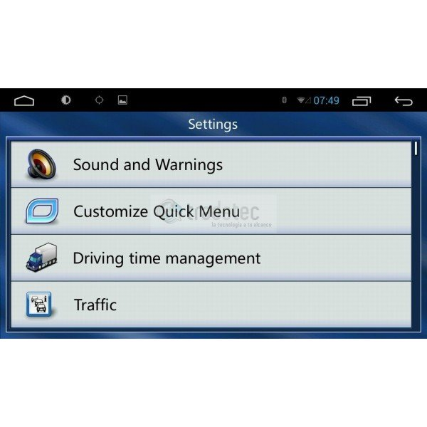 TOYOTA HILUX 9 inches GPS