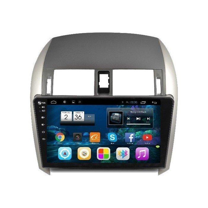"Radio monitor 10.2"" GPS HD TOYOTA COROLLA PURE ANDROID REF: TR2248"