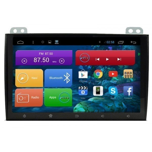 "Radio monitor 9"" GPS HD TOYOTA LAND CRUISER 100 ANDROID PURO REF: TR2249"